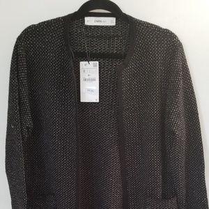 Zara Knit Long sleeve Cardigan